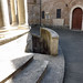Stairs Leading Down into Bramante's Tempietto in Rome, June 2012