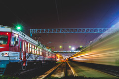 Train I #289/365 (A. Aleksandraviius) Tags: oneaday night train 50mm lights nikon long exposure day trainstation photoaday 365 nikkor lithuania pictureaday dx kaunas nikkor50mm project365 365days f14g 50mmf14g nikon50mm dayphoto daypicture d700 289365 nikond700 traukinistotis nikon50mm14g 365one 3652012 afsdxnikkor50mmf14g f14gnikkor kaunotraukinistotis