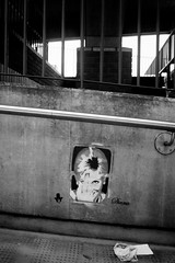 Diana (macal1961) Tags: blackandwhite monochrome concrete graffiti mono mural finger sony voigtlander urbanart diana controversy royalfamily controversial princessofwales urbanfragment nex7
