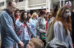 Zombie_Walk_2012-214 (Pardon The Lens) Tags: costumes toronto halloween fan blood nikon nps cosplay zombie makeup brains gore horror undead monsters scared zombies nathanphillipssquare zombiemob nathanphillipssquaretoronto zombiemarch zombiehorde torontozombiewalk zombielurch tzw theundead thewalkingdead zombieshuffle creeped nikond90 102012 zombieshamble zombiephotos undeadwalking oct2012 zombiemonstamash zombieirrigation zombiehurricane zombies2012 torontozombiewalk2012 10thzombiewalk tzw12 tzw2012 zombieparadetoronto 10thannualtorontozombiewalk brainseating