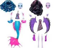 New!! create monster prototype  2013  mermaid (super.star.76) Tags: new monster set high doll pack wig create mermaid mattel 2013