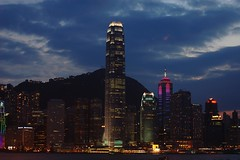 HK Night (EricK_1968) Tags: hello china urban panorama tower skyline skyscraper port harbor cityscape nightscape colorfull bank victoria hong kong trading metropolis  kowloon  hsbc aig     xinggng colourartaward grouptripod erick1968  hunggng