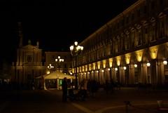 Piazza San Carlo at night (ACDCD) Tags: turin piazzasancarlo torino2012 turin2012