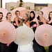 "bride and bridesmaids umbrella pic • <a style=""font-size:0.8em;"" href=""http://www.flickr.com/photos/77063495@N05/8120316634/"" target=""_blank"">View on Flickr</a>"