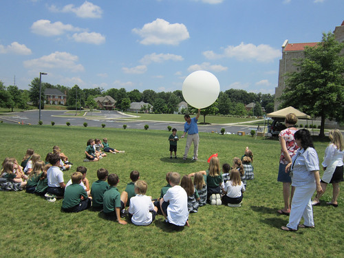 Students Learn About Weather Balloons