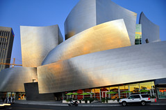 Nice shot! Too bad I had to explain my 1st Amendment right to take it. (Steve Devol) Tags: film losangeles 1st commission disneyhall amendment lapd downtownlosangeles filminglocations