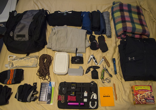 leatherman shirt bag sandy hurricane go under olympus x fox backpack zebra knives xa timbuk2 armour gerber timberland 511 rhodia tactical preparedness paracord kabar smithwesson sharbo smartwool gridit