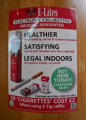 signs advertising poster cigarettes electronic information roadhouse