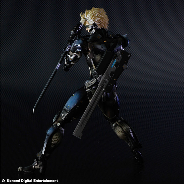 PLAY ARTS改-KAI- - METAL GEAR RISING: 雷電