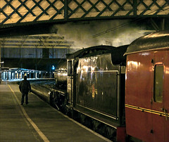 A Magical Moment (Kingmoor Klickr) Tags: station steam carlisle mainline 62005 cumbrian wcrc westcoastrailwayco carlislecitadelstation stevechipperfield peppercornk1