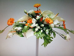 Daisy and little roses (chanelchat Rachel) Tags: flowers fleurs bunch bouquet arrangement chanelchat