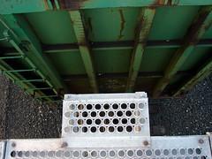 Train Car (dominik18s) Tags: road wood railroad blue sky metal train stew graffiti track railway chips cedar locomotive hatch cart stinky gravel rebarb