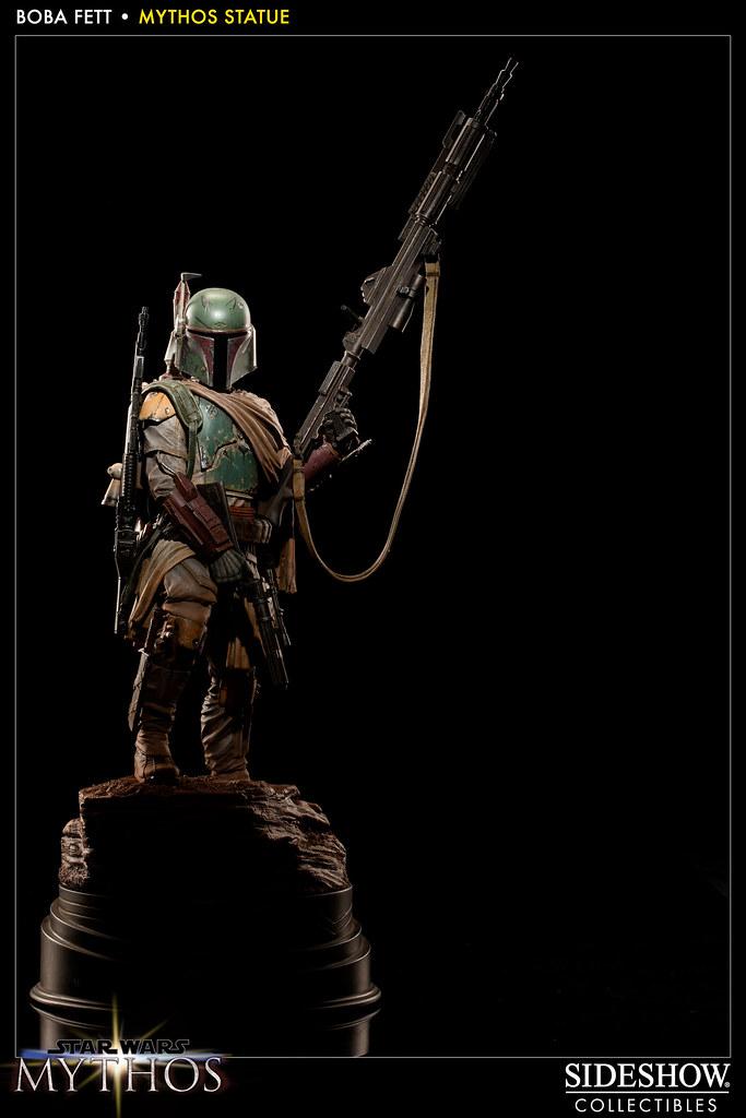 Sideshow - 「星際大戰」傳奇系列:波巴‧費特雕像