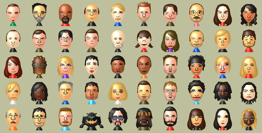 Post pics of your Celebrity Miis! | Page 8 | IGN Boards