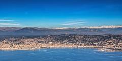 Cannes (Alex Lud) Tags: city sea france beach skyline canon french bay raw cannes south ctedazur paca aerialphotography mediterraneansea urbanlandscape frenchriviera alpesmaritimes 1635f28 5dmarkiii alexlud