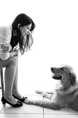 i love Golden Retriever  (Natlia Viana) Tags: dog cute love goldenretriever cachorro natliaviana renanviana