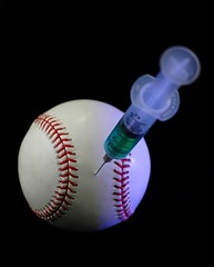 Steroids and Baseball (baseball971) Tags: stilllife hospital holding baseball unitedstatesofamerica performance medical pharmacy health doctor needle drugs syringe illegal drug medicine studioshot needles powerful injection inject healthcare addict abuse clipping medication hypodermic treatment cheating cheater hormones steroids syringes politicalandsocialissues hormone enhancing steroidabuse performanceenhancingdrugs baseballsteroids