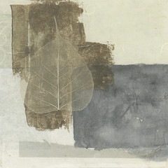 Wabi-sabi (ElenaRay) Tags: winter brown abstract art fall nature collage illustration painting square asian skeleton leaf transformation natural peaceful calm zen simplicity change veins meditation enlightenment simple biology bodhi