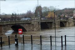 Bridgnorth floods Shropshire 311212 (LIZ CALLAN) Tags: river shropshire severn floods bridgnorth