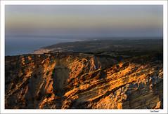 costa do cabo espichel (ToniPanal) Tags: sunset costa portugal landscape coast nikon sonnenuntergang paisagem prdosol landschaft kste