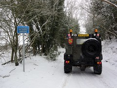 Unsuitable ?  Not for Land Rovers (Pinkrover M6IOI , Check out my albums) Tags: snow offroad 4x4 101 fc landrover v8 offroading greenlanes greenlane greenlaning forwardcontrol landroverforwardcontrol 101fc landrover101 landrover101forwardcontrol landroverv8 landrover101fc radiobody landroverfc