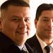 Rick Gravitt and Mike Camarillo. Navajo Nation Inaugural Reception. Jan. 20, 2013. Photo by Missy Janes.