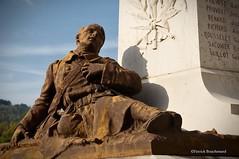 Agonisant / Dying (patoche21) Tags: france statue bronze soldier nikon 21 burgundy wwi ombre monumentauxmorts bourgogne soldat 1418 warmonument d300 poilu 18200mm ctedor plombireslsdijon capturenx2 patrickbouchenard