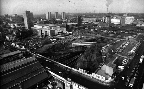 Queen Street Station looking North late1980s