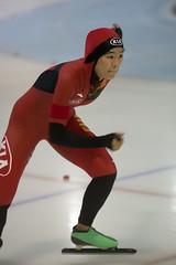 A37W7497 (rieshug 1) Tags: speedskating schaatsen eisschnelllauf skating worldcup isu juniorworldcup worldcupjunioren groningen kardinge sportcentrumkardinge sportstadiumkardinge kardingeicestadium sport knsb ladies dames 500m