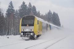 ALEX - HERGATZ (Giovanni Grasso 71) Tags: allgu allgubahn kbs970 hergatz er20 br221 siemens locomotiva elettrica diesel bodensee lindau bodolz immenstadt kempten buchloe monaco neve inverno nikon d610 giovanni grasso