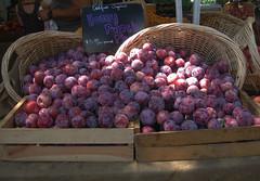 spill of plums (pieplate) Tags: thesedaysinamericanlife fruit purple mercado market markets abundance