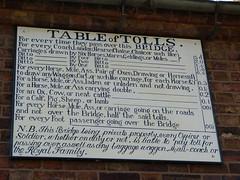 Bridge Tolls (Thomas Kelly 48) Tags: panasonic lumix fz150 ironbridge shropshire riversevern tolls bridge