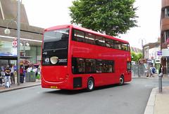 GAL OM1 - YJ16DBO - OSR - BEXLEYHEATH - THUR 18TH AUG 2016 (Bexleybus) Tags: goahead go ahead london om1 yj16dbo bexleyheath shopping centre kent tfl route 401 optare metrodecker demonstrator trial bus