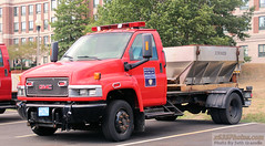 Former BEMS Ambulance Chassis (Seth Granville) Tags: boston ems ambulance plow sander public health chassis
