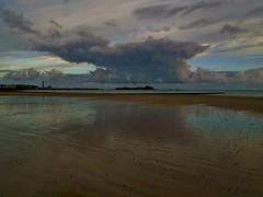 A reflective large cumulus (Richard Bougeard) Tags: jersey weather
