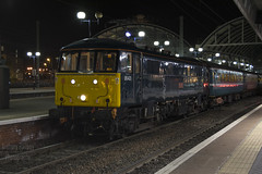 86401 'Mons Meg' - Newcastle - 'GBRf 15' 1Z20 (AnthonyRailwayPhotography) Tags: 86401 mons meg newcastle class 86 caledonian sleeper