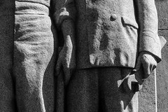 BRYAN_20160425_IMG_2325 (stephenbryan825) Tags: blackwhite liverpool art heroes heroic menatwork relief sculpture selects sidelighting statues stoicism stone warmemorial
