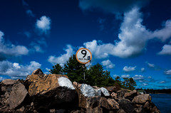 9KM/HR (Howard Yang Photography) Tags: ricohgr ontario lake cottagecountry honeyharbour clouds