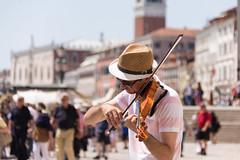 Venice Violin (Allen Castillo) Tags: italy venice venezia piazzasanmarco grandcanal nikond610 nikon28300