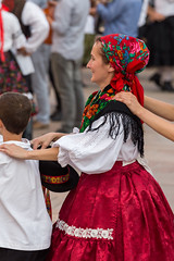 International folk dance festival, Pcs of Hungary (digoarpi1) Tags: art artist audience pecs black clothe color colorful costume country cultural culture dance decoration editorial entertaiment summer festival folk friendship fun happiness holiday hungarian hungary international musical nation people perform performance person place red region show traditional travel village white august women senior