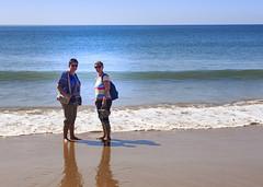 Albufeira (Hans van der Boom) Tags: vacation holiday europe portugal algarve albufeira janny marjon women people atlantic ocean sea beach pt