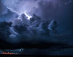 Indirect Lightning (Scott Sanford) Tags: clouds sky lightning weather light lightandshadow dramatic outdoor nature naturallight naturalbeauty landscape canon eos ef2470mmf28lusm 6d nightphotography lowlight longexposure thunderstorm texas topazlabs
