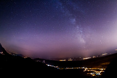 observatory (dr3zga) Tags: milkyway canon 350d sigma 10mm f28 fisheye stars galaxy city landscape observatory astrophotografy astro night