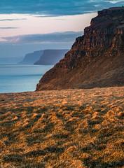 Western face of Iceland (Bill Bowman) Tags: ltravk iceland sland fjord sunset