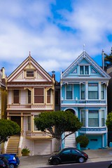 Full House Houses (ben.palmore) Tags: olsentwins victorianhouses fullhouse sanfrancisco