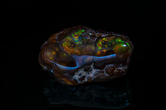 Fire Agate (Mr Giuseppe) Tags: mineral minerales geologia mineralogia rocas rocks crystals geology mineralogy