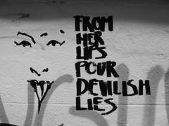 From her lips pour devilish lies, Bristol (duncan) Tags: bristol