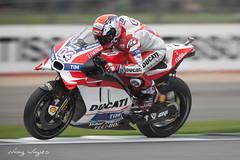 Moto GP - #4 Andrea Dovizioso (FocusedWright) Tags: 4 andreadovizioso motogp moto2 moto3 race racing uk silverstone track tracks motorcycle motorbike bike bikes motorcycles 2016