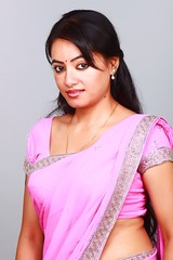 South actress Madhu Chanda Photos Set-1-Hot In Saree (8)