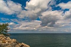 Georgian Bay (fotofrysk) Tags: collingwoodharbour harbour sailboats boats georgianbay lakehuron clouds blue sundaydrive discoveringontario roadtrip canada ontario collingwood nikond7100 1608287324
